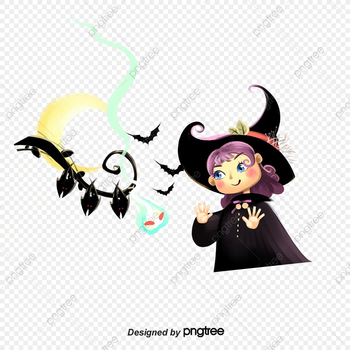 Halloween Sorcière Bat Souris Fête De L Occident, Halloween tout Image De Sorcière Gratuite