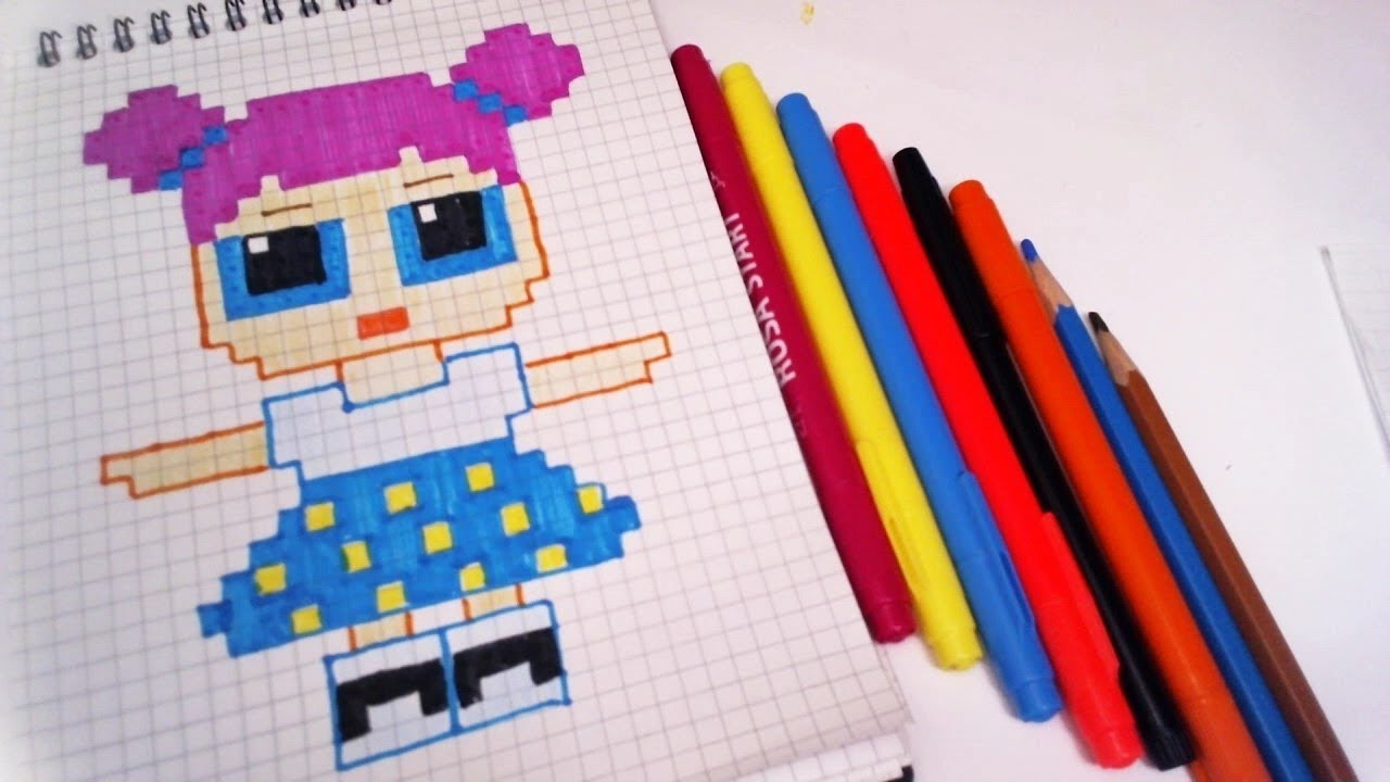 Handmade Pixel Art Lol Surprise - How To Draw Lol Surprise dedans Pixel Jouet