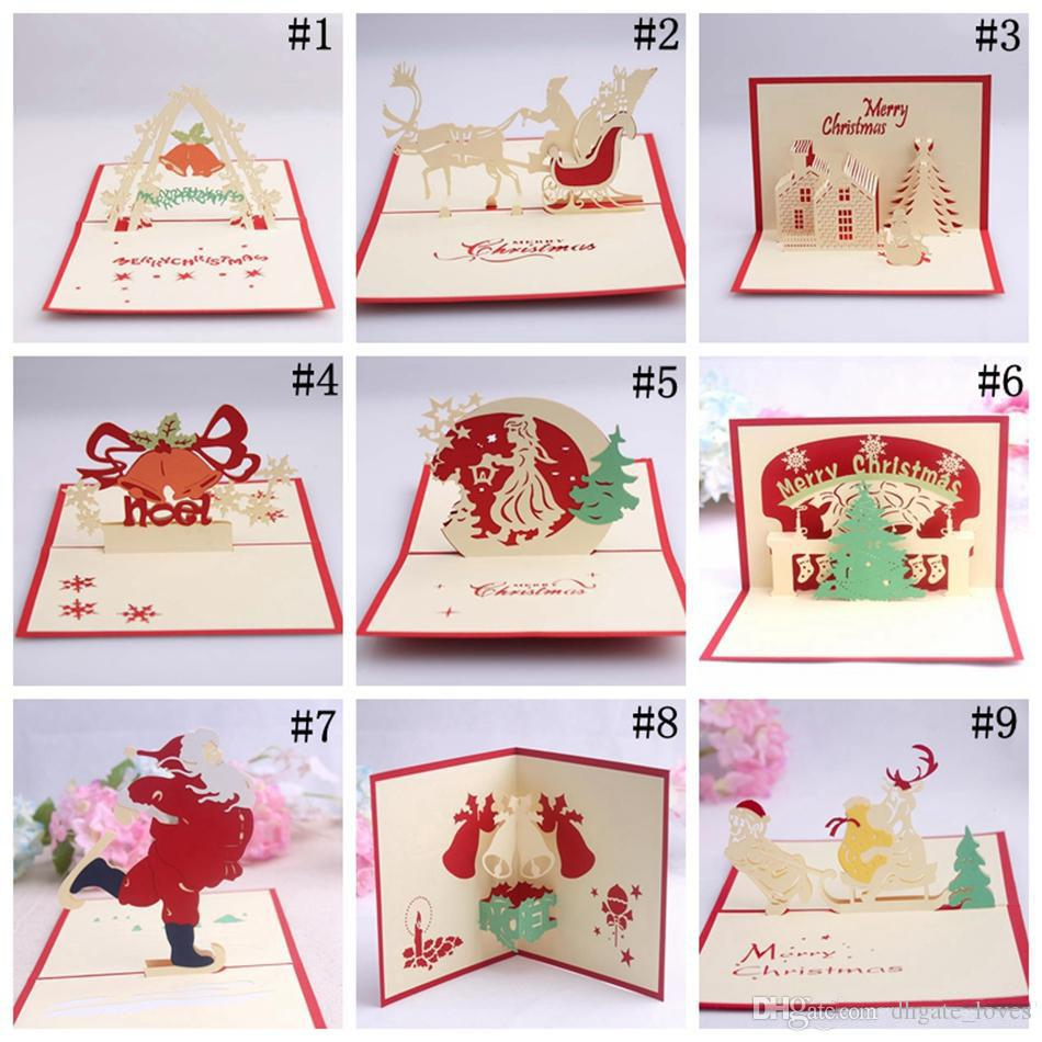 Handmade Pop Up Carte Dans Une Boîte De Personnaliser Joyeux concernant Boite À Personnaliser