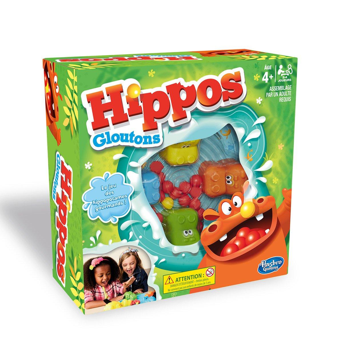 Hippos Gloutons - Jeux De Société Et Puzzles - La Grande Récré pour Jeux De Société À Partir De 4 Ans