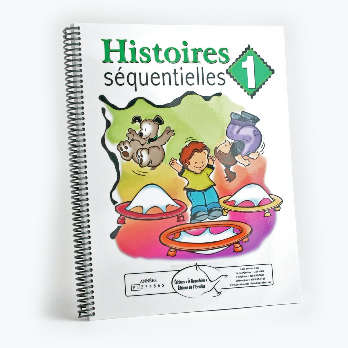 Histoires Séquentielles 1 - Éditions De L'envolée avec Images Séquentielles À Imprimer