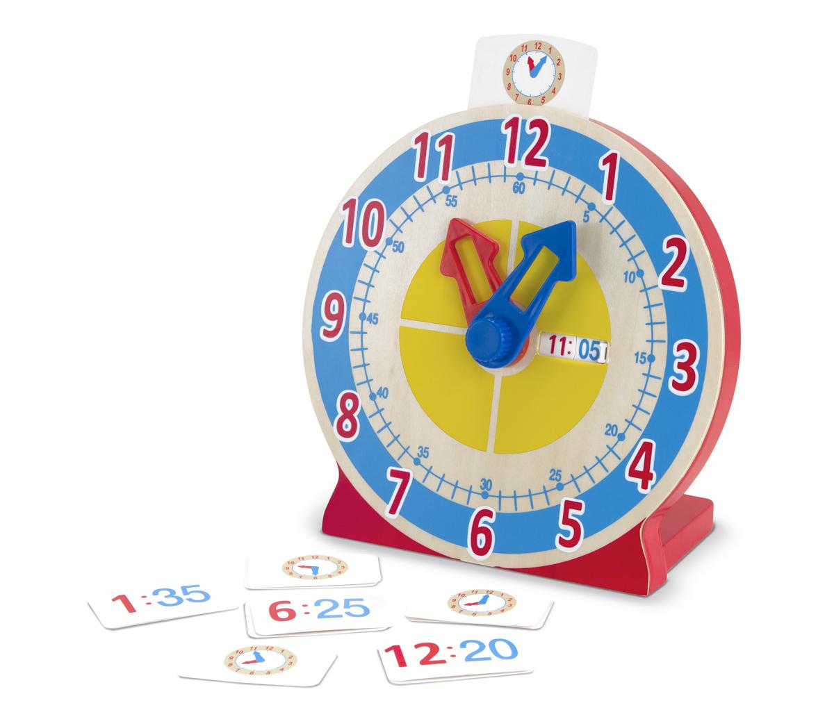 Horloge Pour Apprendre À Lire L'heure concernant Jeux Pour Apprendre À Lire 4 Ans