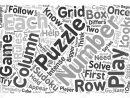 How To Play Sudoku Text Background Word Cloud Concept intérieur Comment Jouer Sudoku