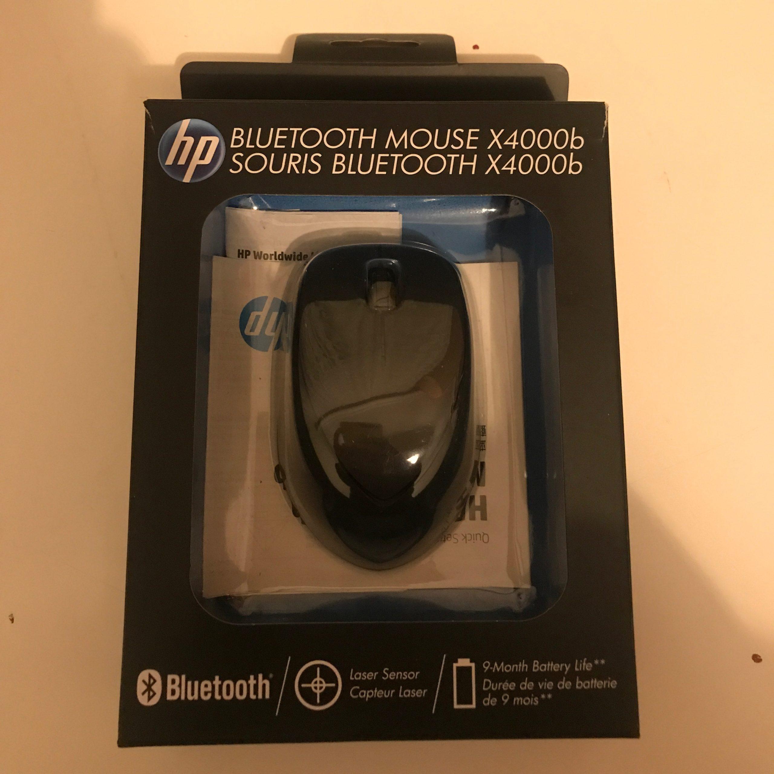 Hp Bluetooth Mouse X4000B encequiconcerne La Souris Du Web
