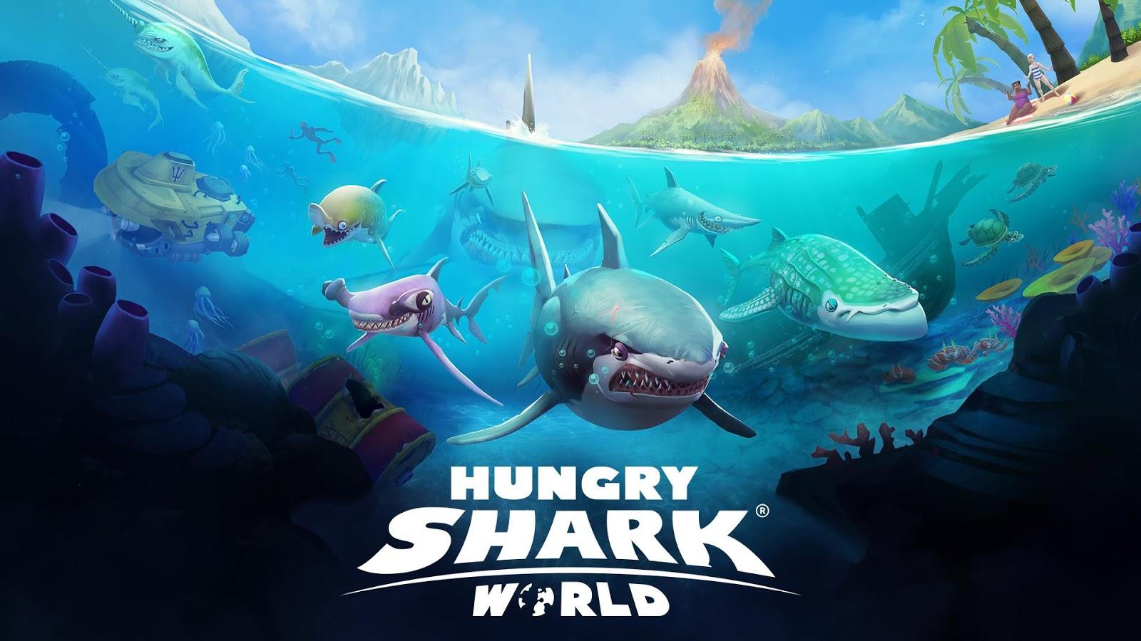 Hungry Shark World Se Fait Les Dents Sur Android tout Requin Jeux Gratuit