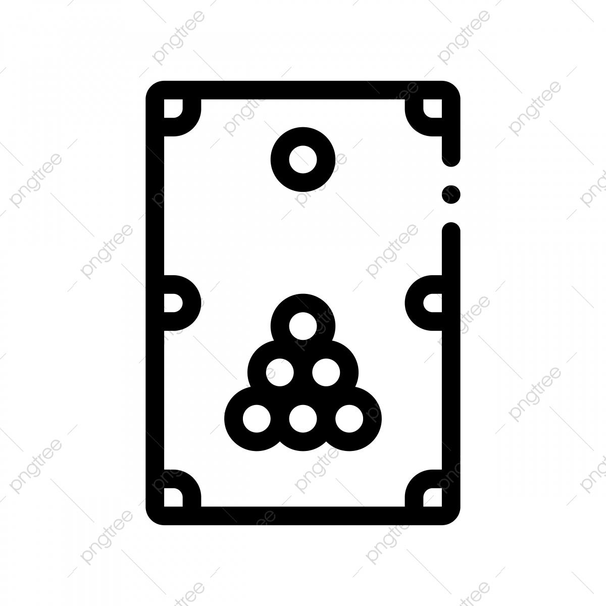 Icône De Fine Ligne Vecteur Jeu De Billard Interactif tout Jeux Billard En Ligne Gratuit