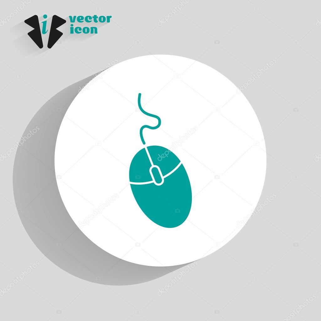 Icône De La Souris Rmatique Web — Image Vectorielle dedans La Souris Du Web