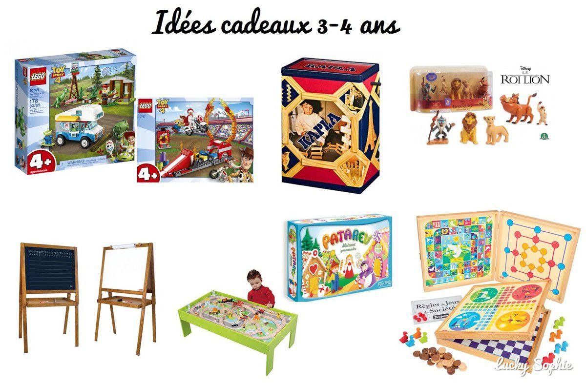 Idées Cadeaux Pour 3-4 Ans - Lucky Sophie, Blog Maman À Lyon serapportantà Jeux De 4 Ans Garçon