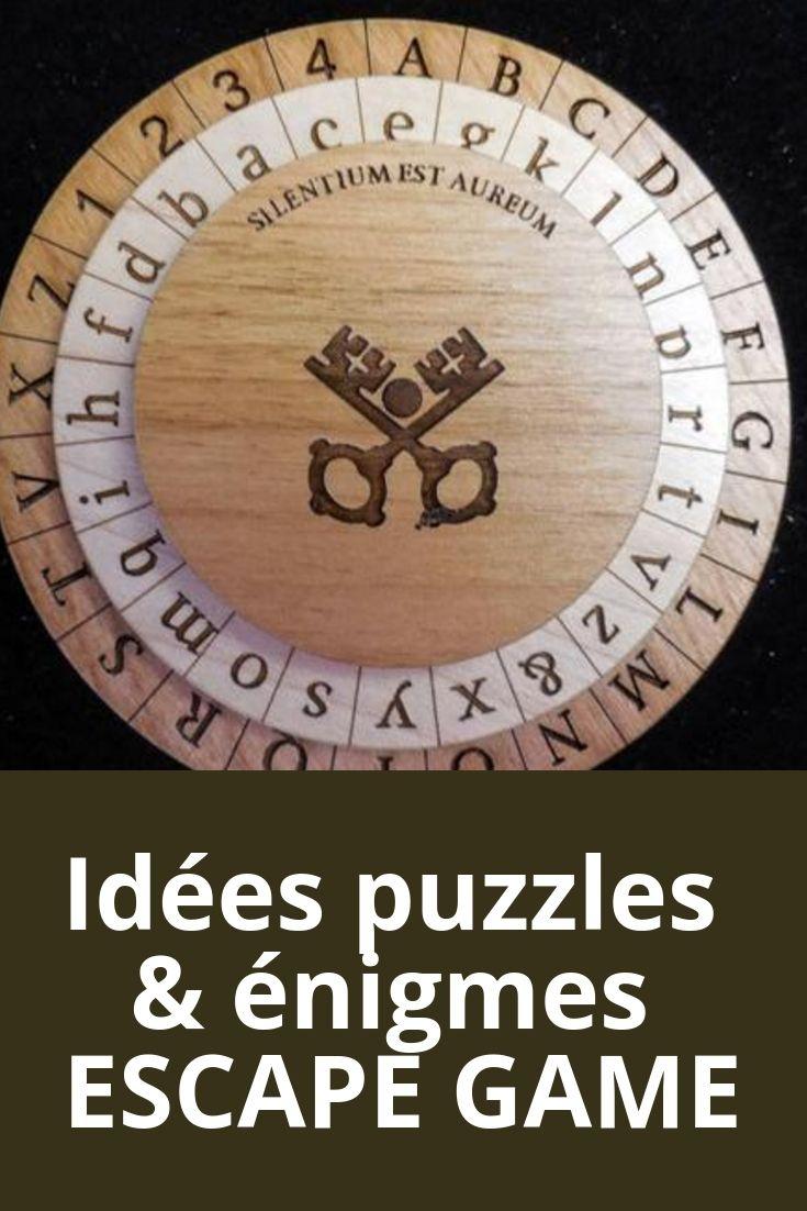 Idées De Puzzle Et Énigmes Pour Créer Un Chasse Au Trésor Ou avec Puzzles Adultes Gratuits