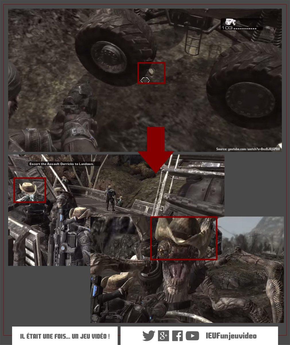 """Ieufun Jeu Vidéo! On Twitter: """"dans Gears Of War 2, Tirer encequiconcerne Jeu Des Chapeaux"""