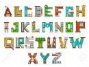 Illustration De L'alphabet Pour Enfants. Apprendre Des Lettres  D'apprentissage À La Maternelle À La Maternelle. Lettres Isolées avec Apprendre Les Lettres Maternelle