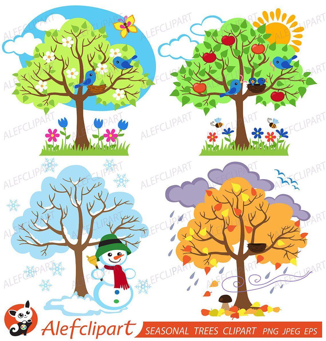 Image 0 | Saisons Maternelles, Tableau D Éveil, Les Quatre intérieur Apprendre Les Saisons En Maternelle