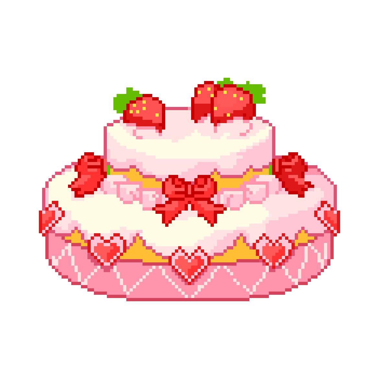 Image About Pink In Digital Pixel Art By Cmz • Special Asian intérieur Pixel Art Fraise