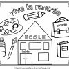 Image Dessin Ecole Maternelle - Slubne-Suknie destiné Coloriage Classe Maternelle