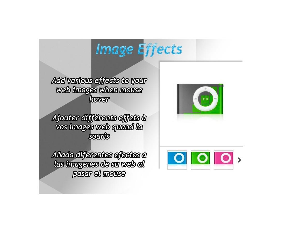 Image Effects - Prestashop Module avec La Souris Du Web