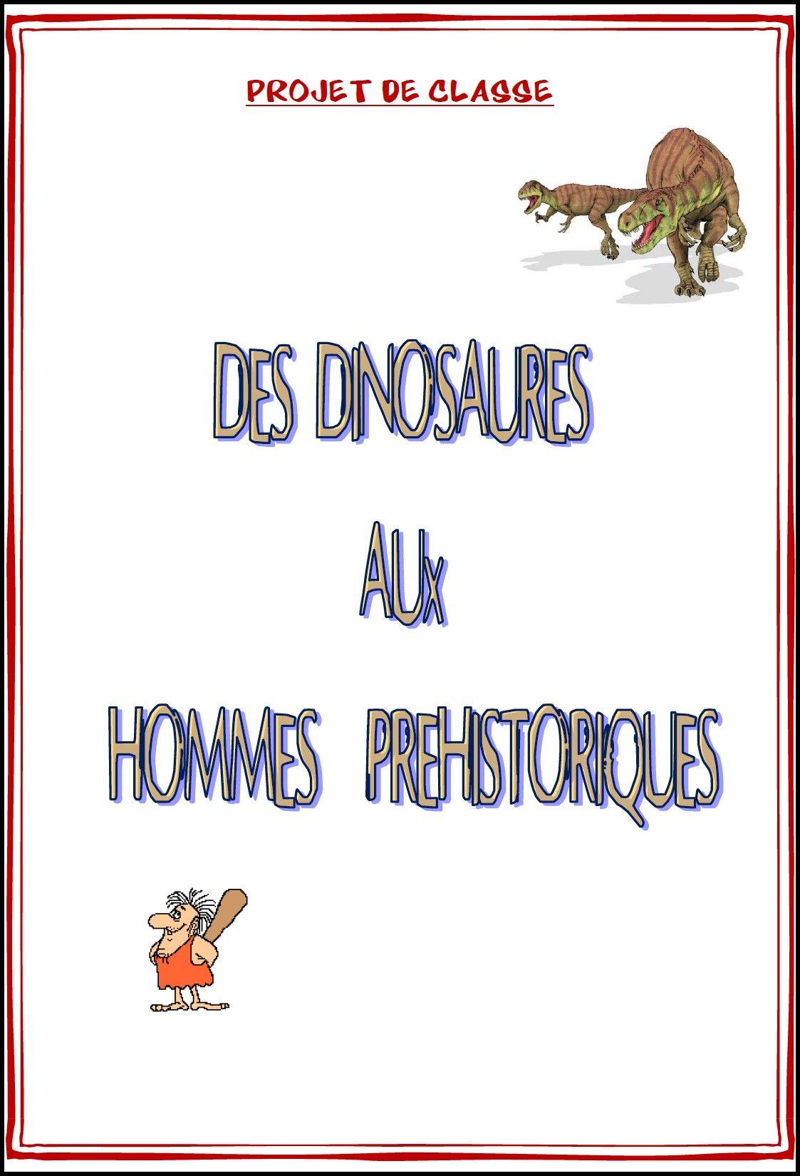 Image Projet Prehistoire | Dinosaures | Préhistoire encequiconcerne Jeux De Préhistoire