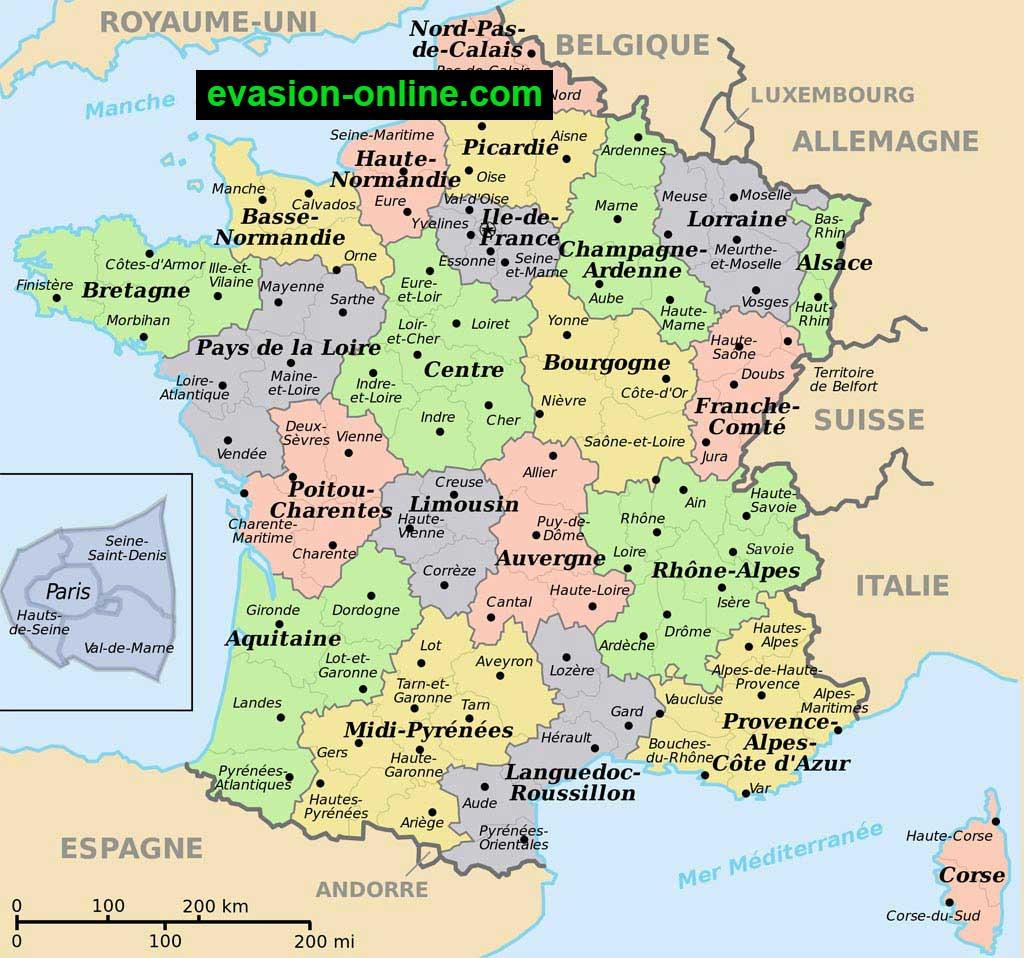 Images De Plans Et Cartes De France » Vacances - Arts encequiconcerne Carte De France Détaillée Avec Les Villes