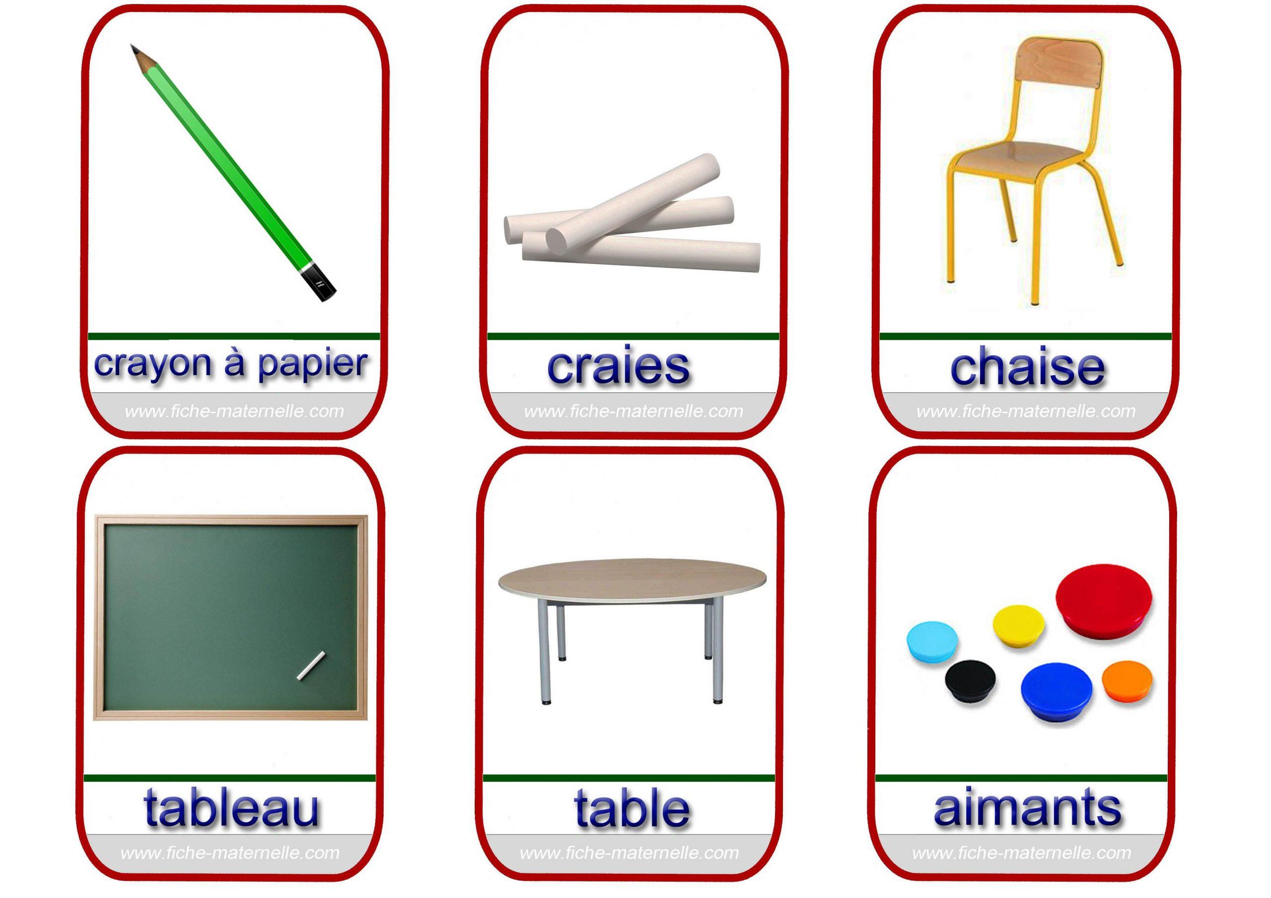 Imagier (Avec Images) | Outils De Classe, Parties Corps à Imagiers Maternelle