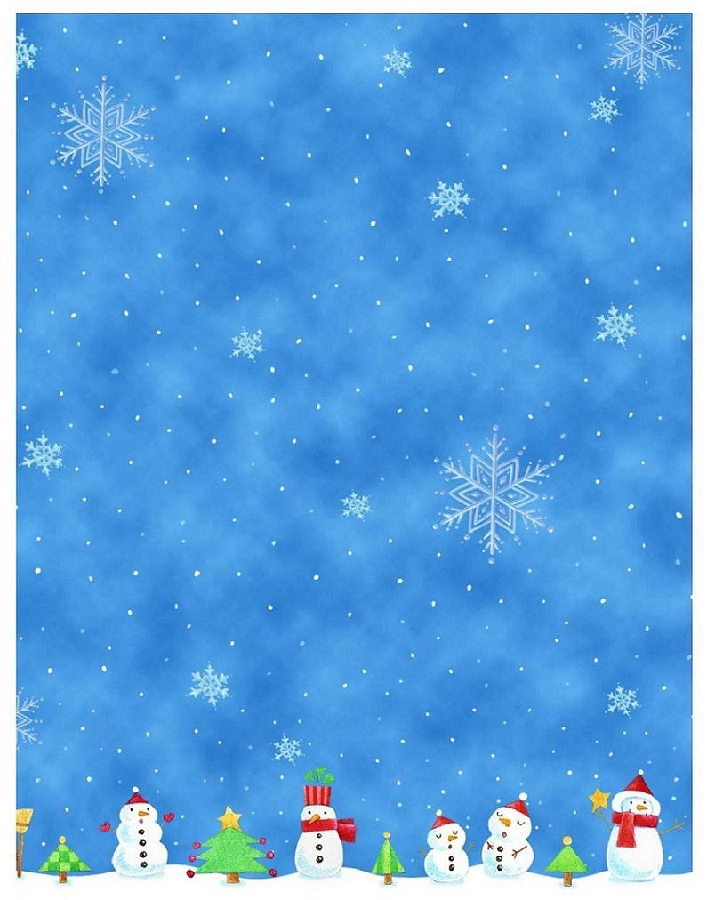 Imprimer Papier À Lettre Gratuit Pour Écrire Au Papa Noël - avec Papier A Lettre Pere Noel Gratuit