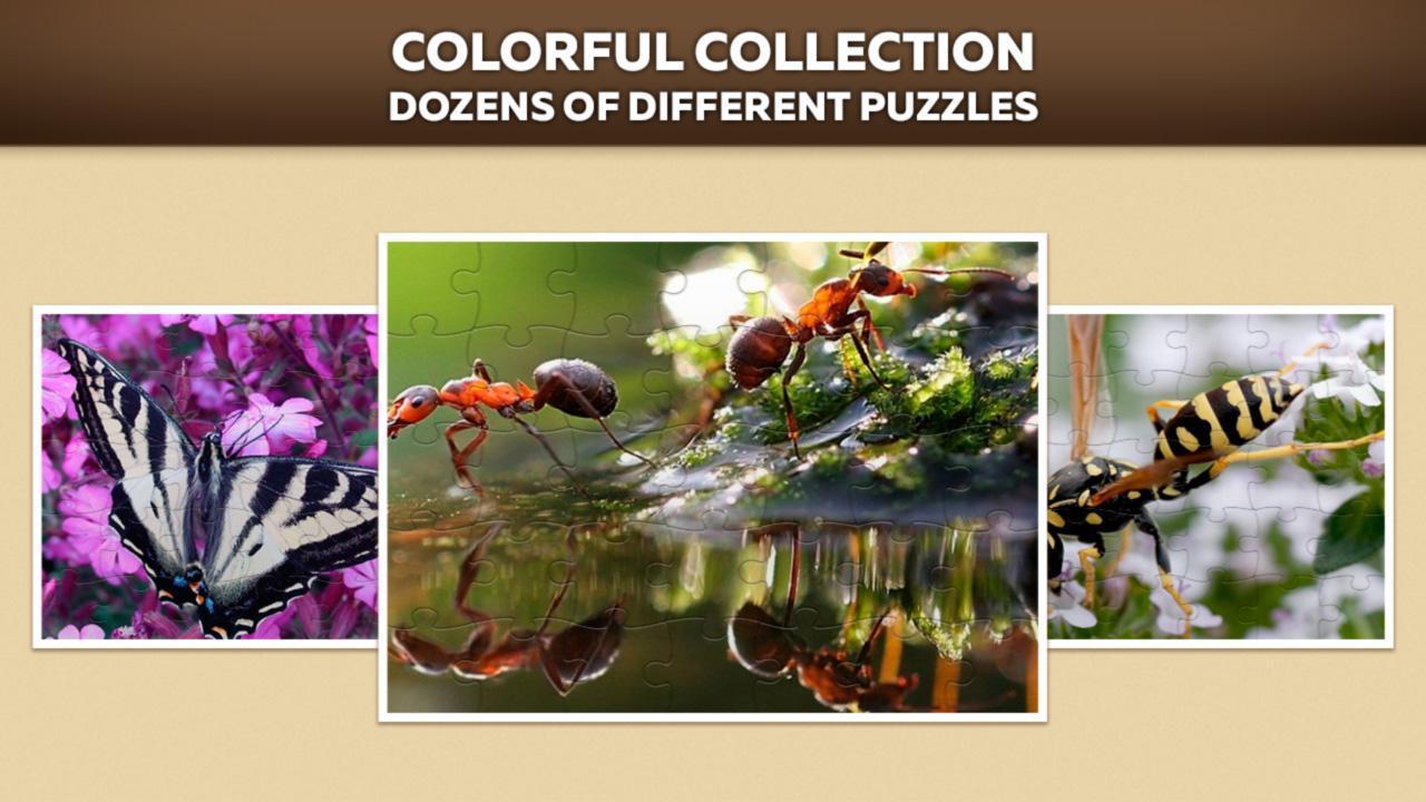Insectes Puzzles Pour Adultes Et Enfants Gratuits Pour tout Puzzles Adultes Gratuits