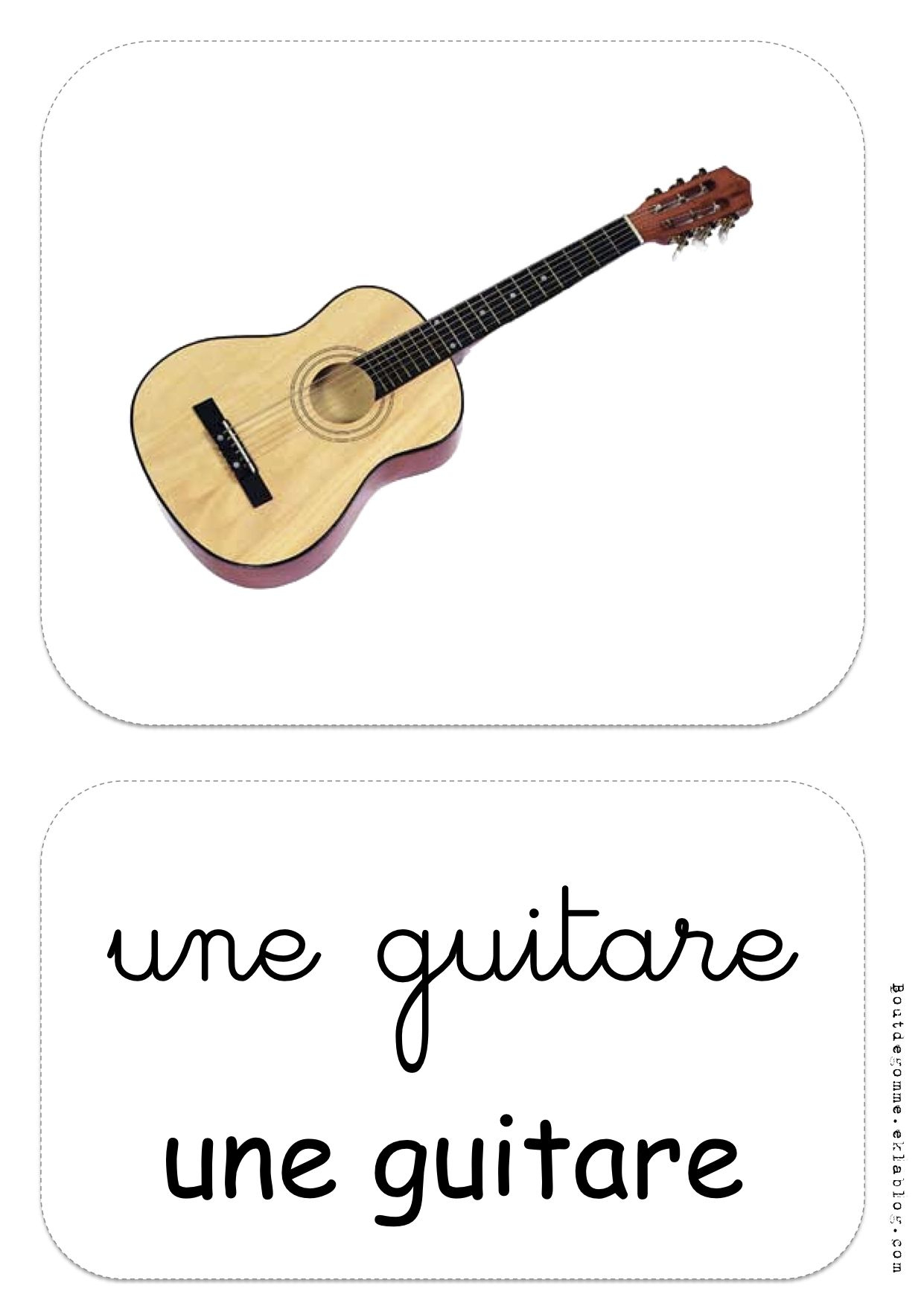 Instruments De Musique - Affichage, Écoute - Bout De Gomme concernant Activité Musicale Maternelle