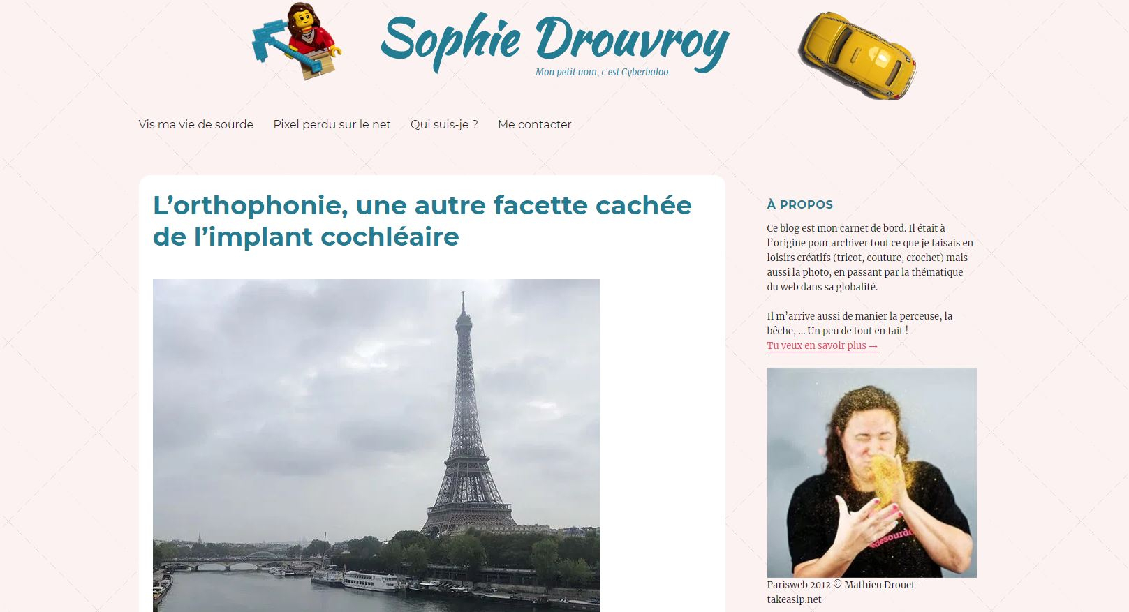 Interview With People From The Web: Sophie Drouvroy encequiconcerne Site Pour Tout Petit