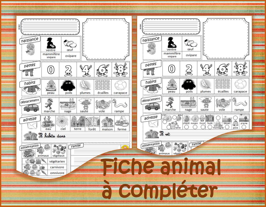 Ipotâme .tâme: Livret Des Animaux pour Animaux Ovipares Liste