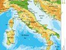 Italy Relief Map Stock Vector. Illustration Of Country encequiconcerne Carte De L Europe En Relief