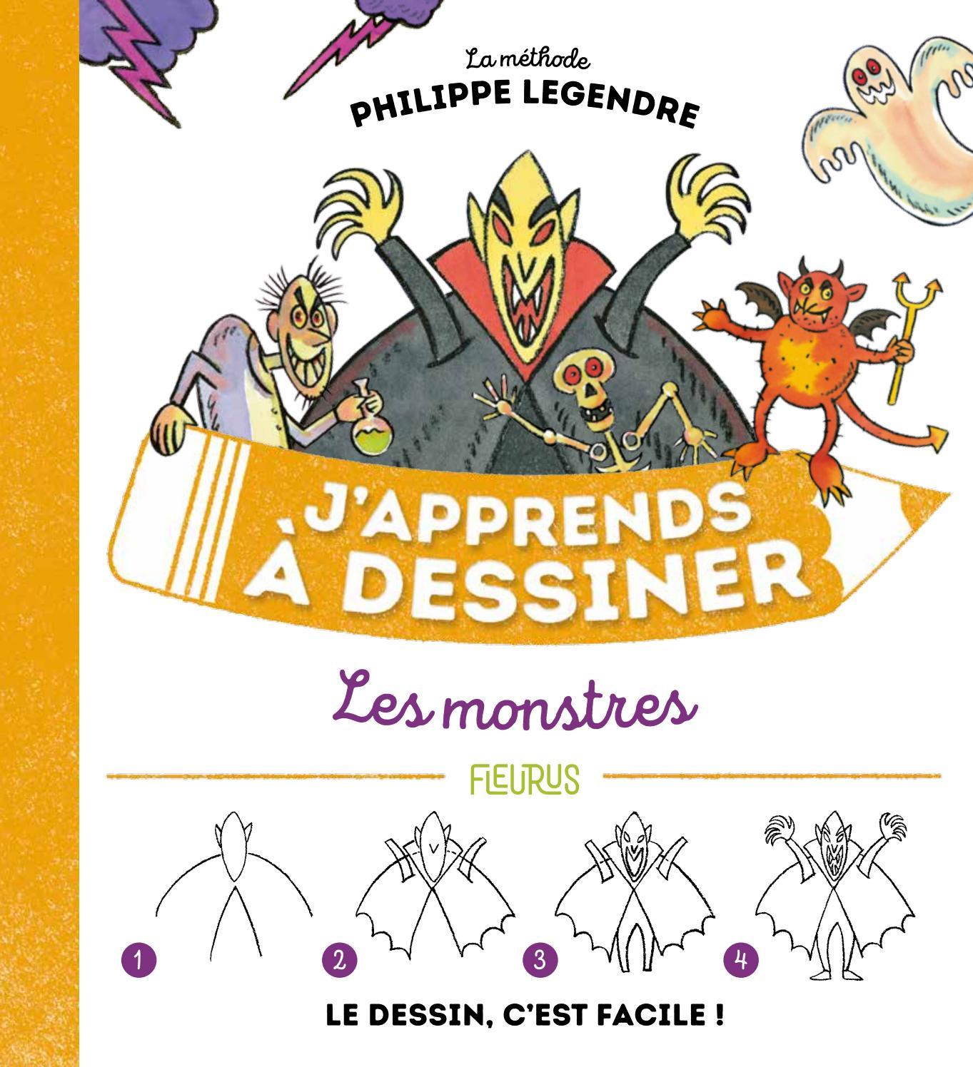 J'apprends À Dessiner Les Monstres By Fleurus Editions - Issuu destiné J Apprend À Dessiner