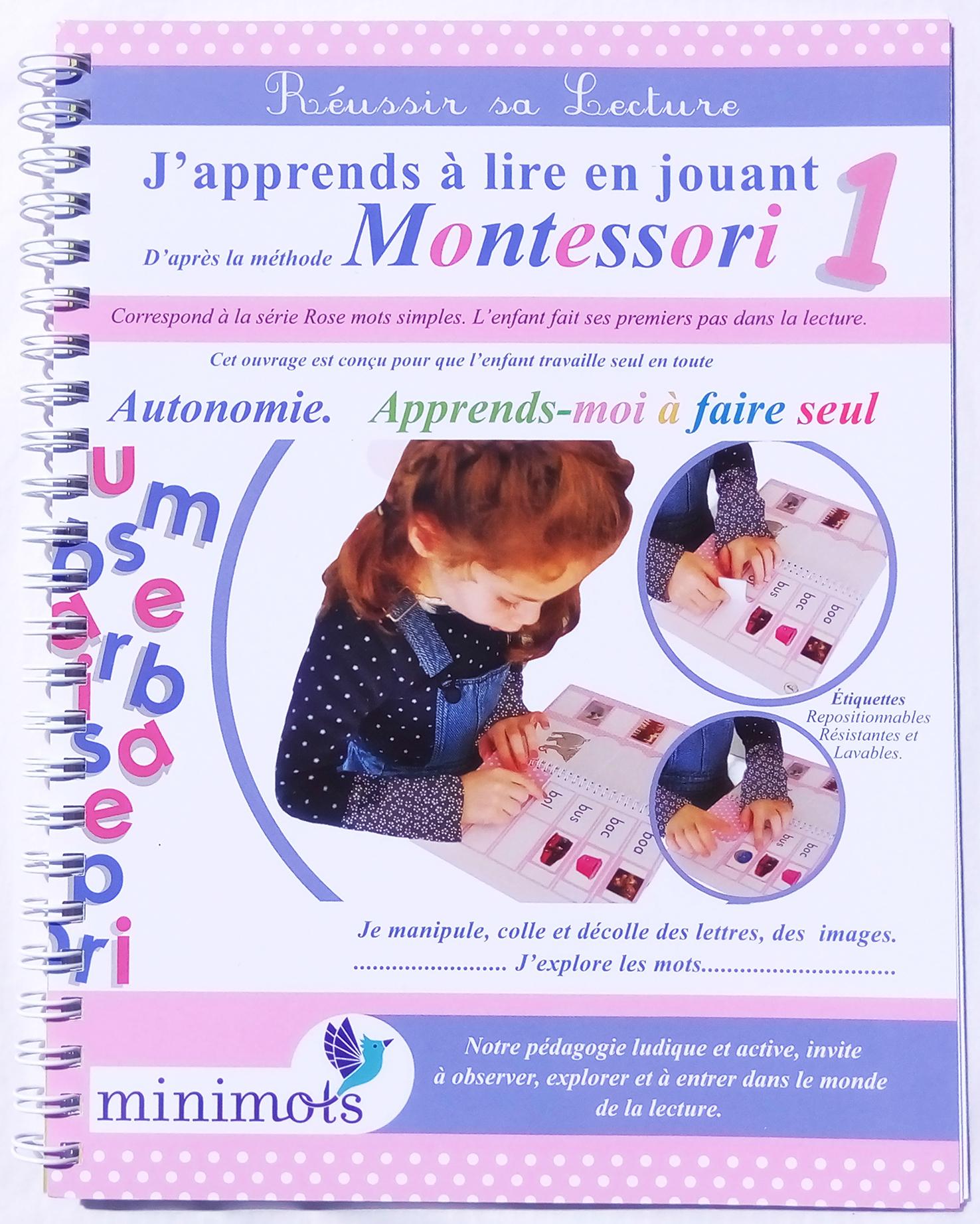 """J'apprends À Lire En Jouant"""" 1 - Minimots concernant Apprendre Les Lettres En Jouant"""