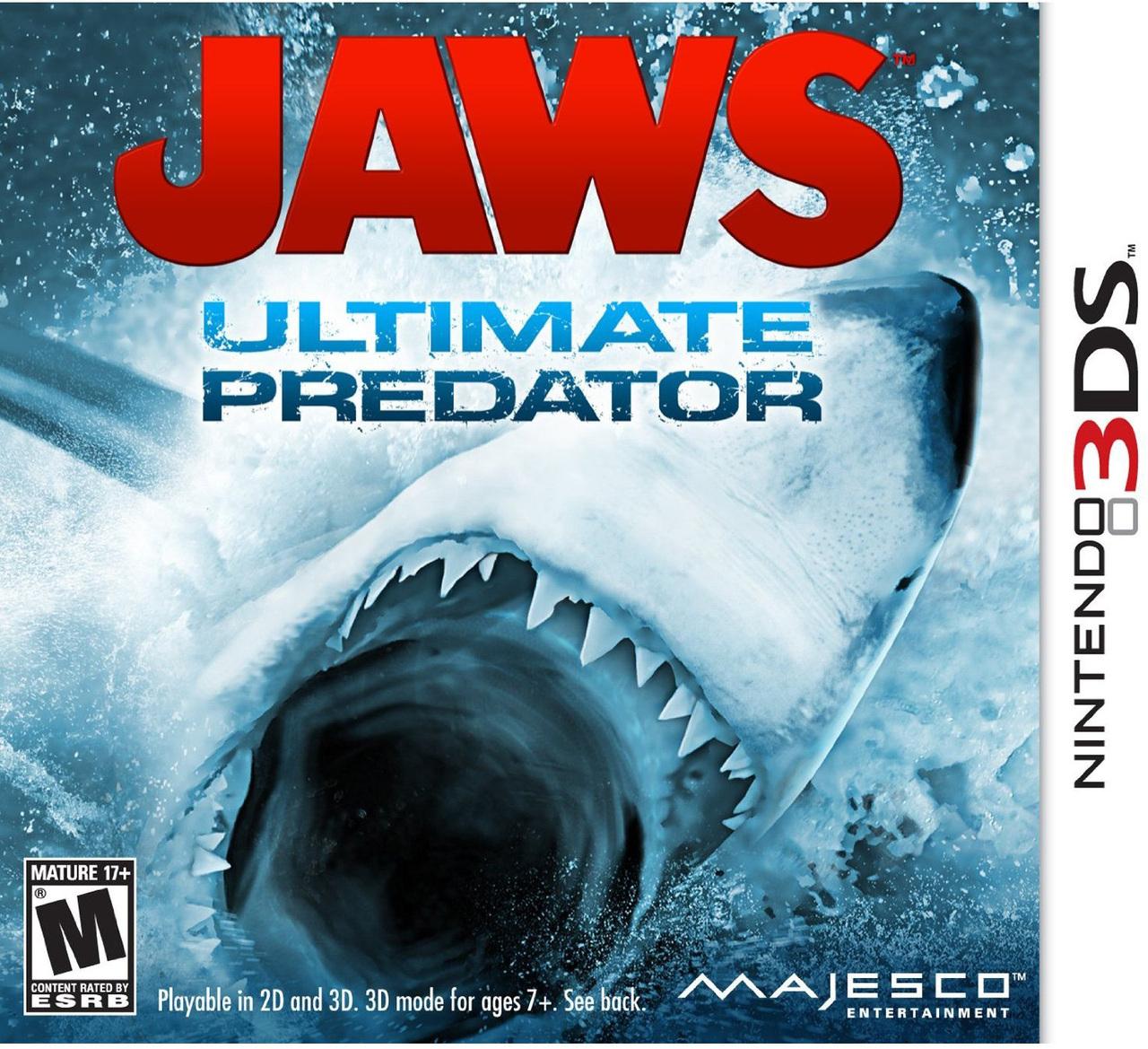 Jaws : Ultimate Predator Sur Nintendo 3Ds - Jeuxvideo tout Tous Les Jeux De Requin