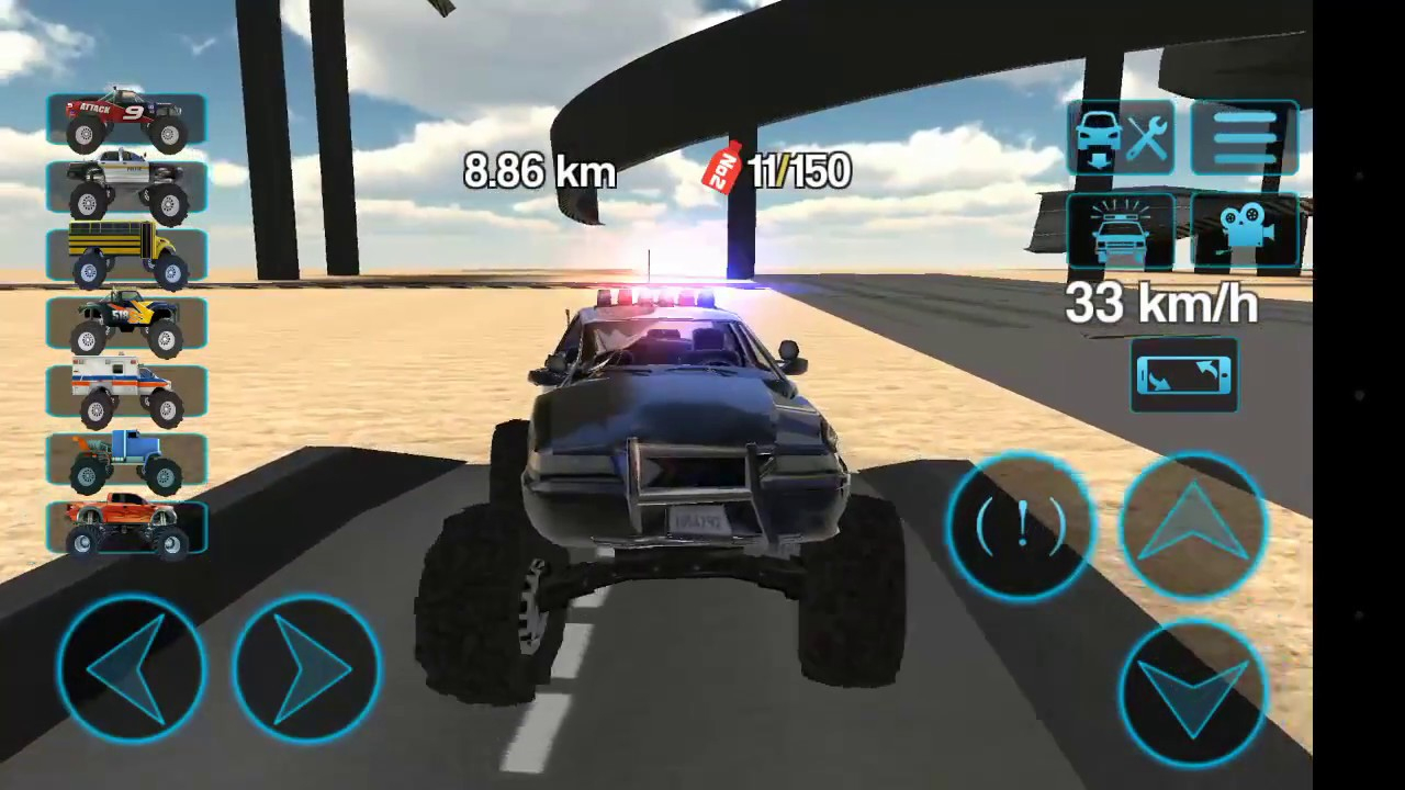 Jeep Et Voiture De Police 4X4.jeu Vidéo à Jeu De Voiture De Police Gratuit