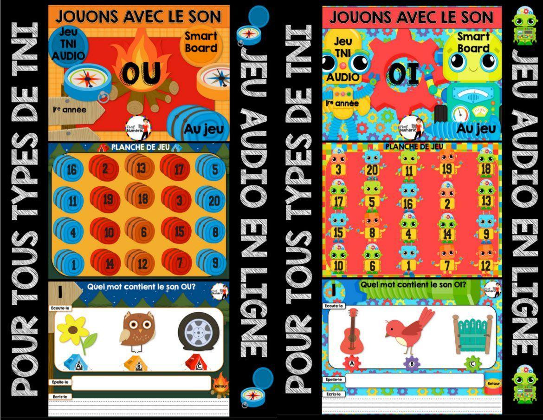 Jeu Audio Sur Les Sons (Tni Ou Internet) | Jeux De Lettres serapportantà Jeux Interactifs Primaire
