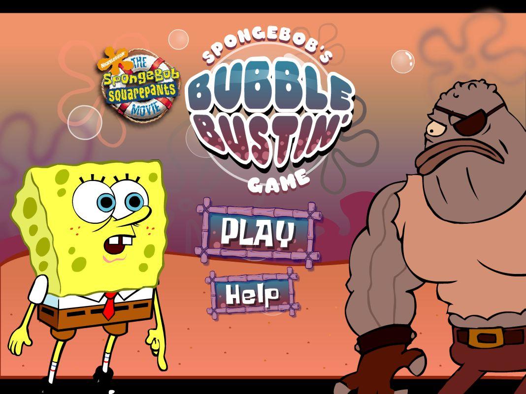 Jeu Bob L'éponge Bubble Bustin / Jeuxgratuits concernant Jeux Gratuits De Bulles