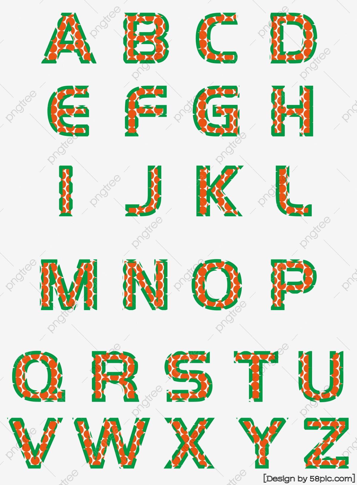Jeu De 26 Polices Caractères Géométriques Créatives Lettres avec Jeu De Lettres Gratuit A Telecharger