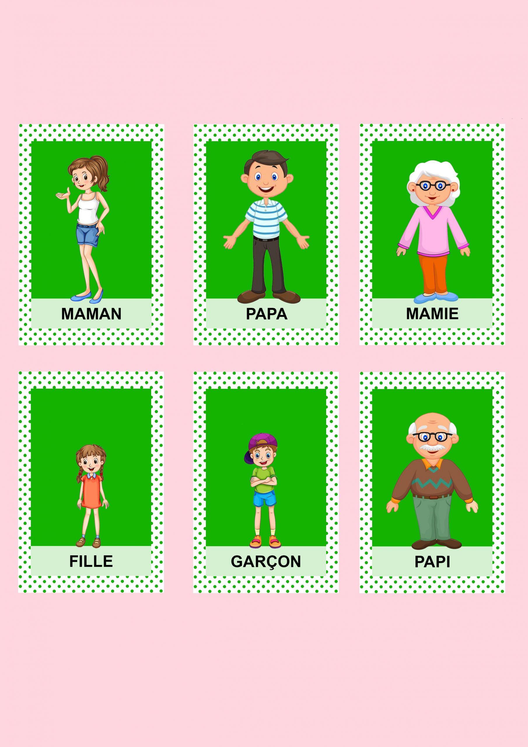 Jeu De 7 Familles   Jeux En Famille, Jeux Des 7 Familles Et Jeux pour Jeux De Gratuit Fille Et Garçon