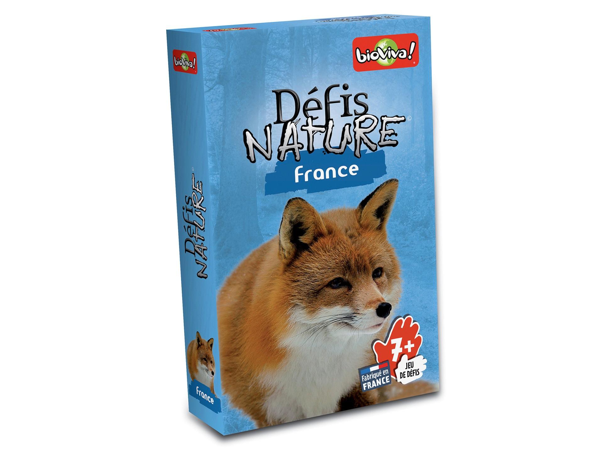 Jeu De Cartes Défis Nature - France destiné Jeu De Carte De France