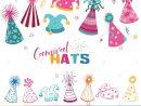 Jeu De Chapeaux De Carnaval Vecteurs Et Illustration, Image dedans Jeu Des Chapeaux