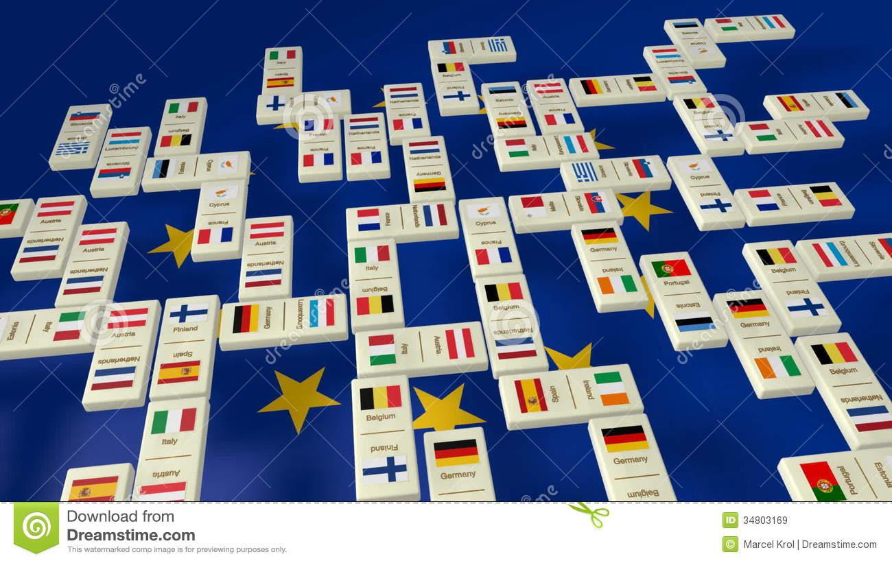 Jeu De Domino D'union Européenne. intérieur Jeux Union Européenne