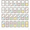 Jeu De Dominos À Imprimer | Jeux A Imprimer, Jeux Et Jeux À à Jouer Au Domino Gratuitement