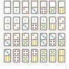 Jeu De Dominos À Imprimer | Math, File Folder Games, Folder destiné Jeu Du Domino