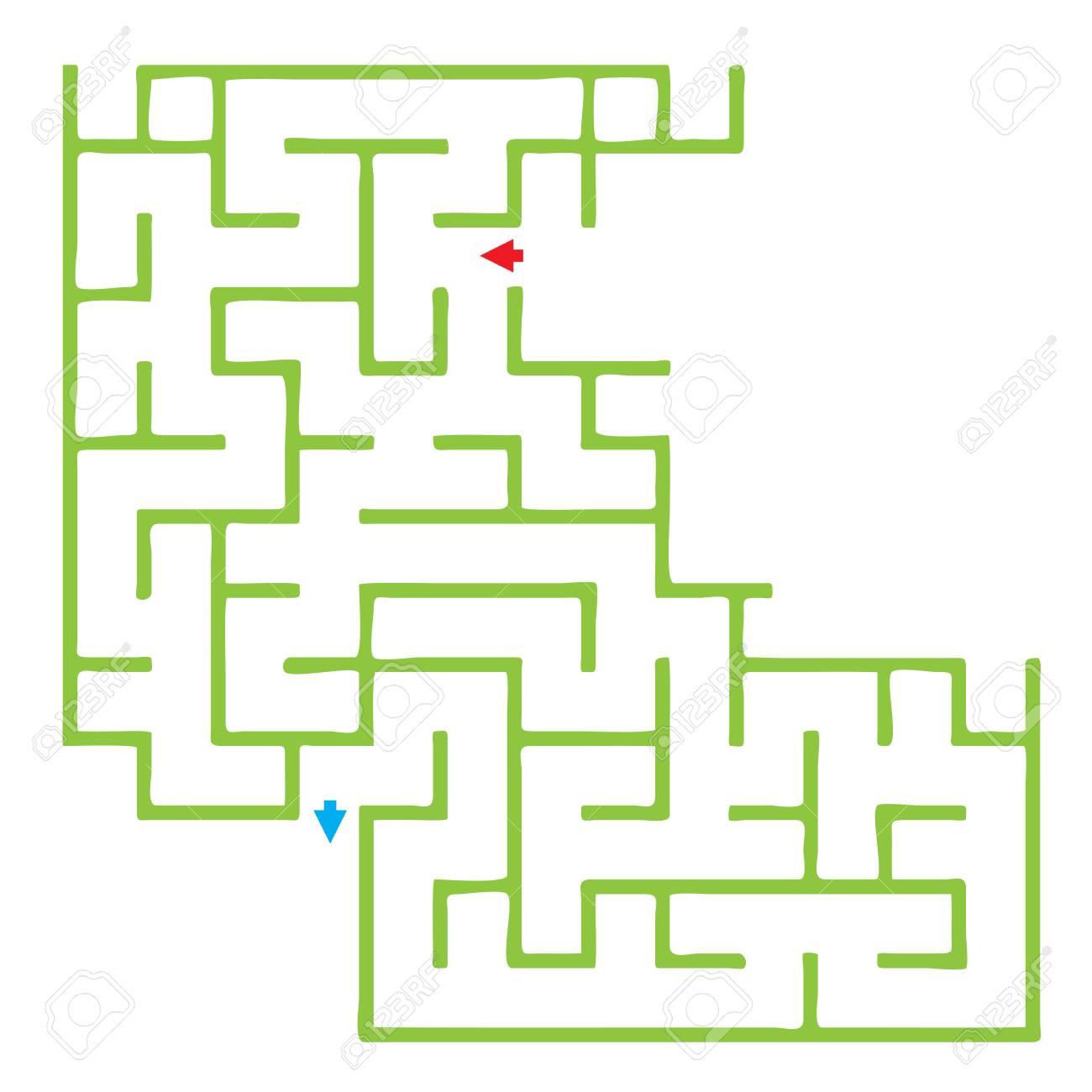 Jeu De Labyrinthe Drôle Pour Les Enfants. Quiz Pour Enfants D'âge  Préscolaire intérieur Quizz Enfant