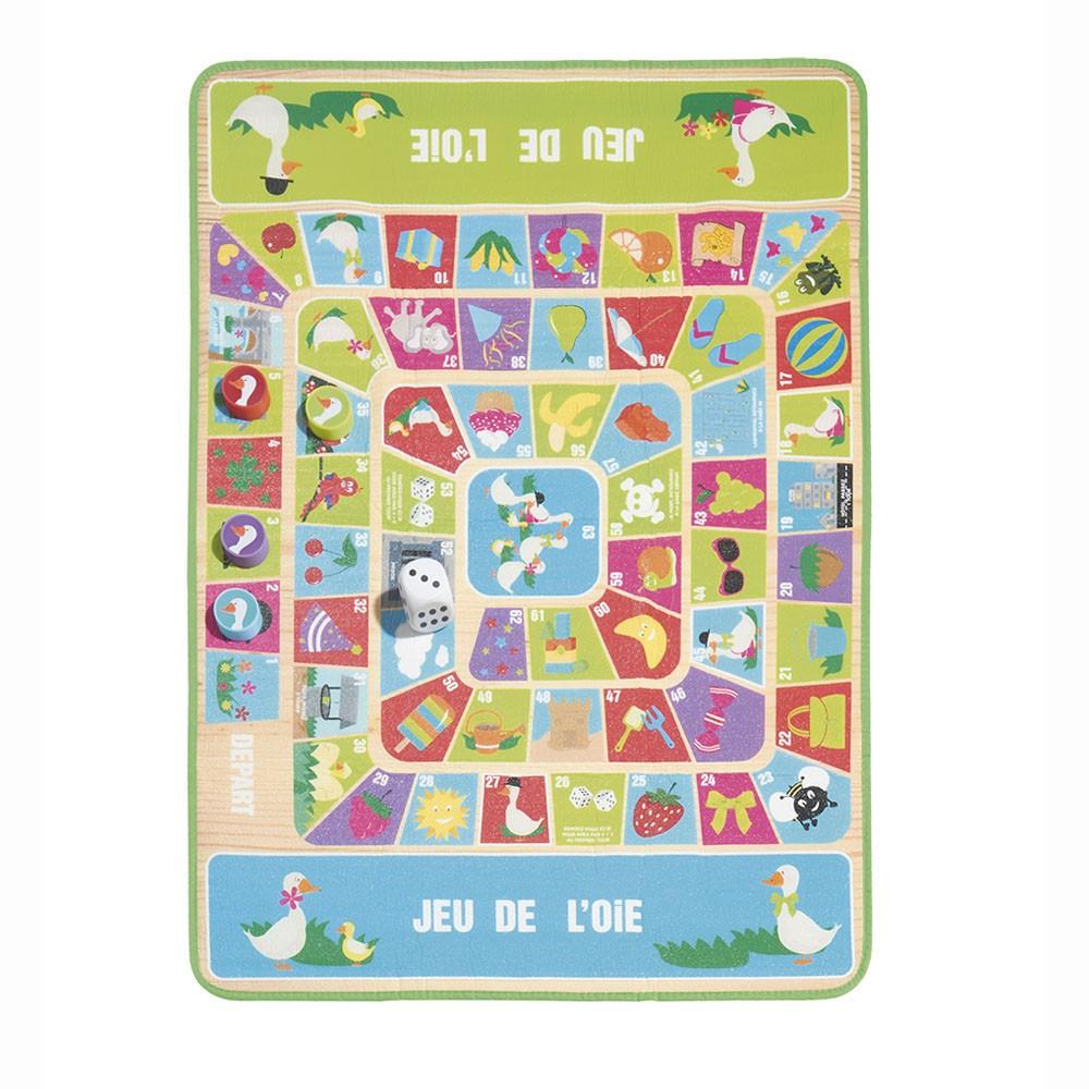 Jeu De L'Oie Format Xl De 1 À 4 Joueurs destiné Jeu De 4 Images