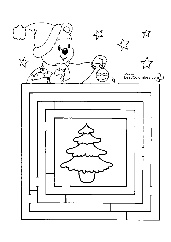 Jeu De Noel A Imprimer 111 - Coloriage En Ligne Gratuit Pour tout Jeu Pour Noel Gratuit