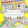 Jeu De Noël : Bingo À Télécharger Gratuitement Pour Vos tout Jeu Pour Noel Gratuit