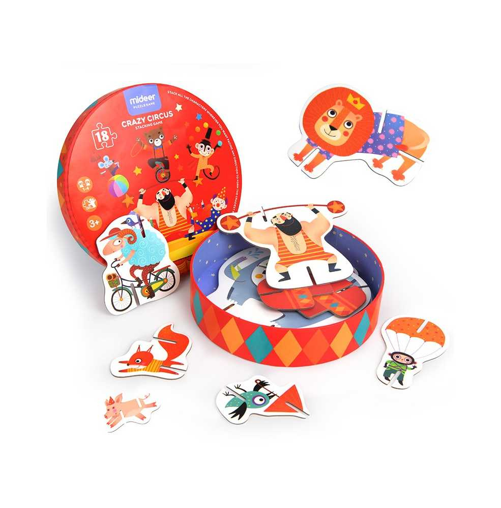 Jeu De Puzzle Pour Enfant - Sur Le Thème Du Cirque - Puzzle En 3D dedans Jeux De Puzzle Enfant