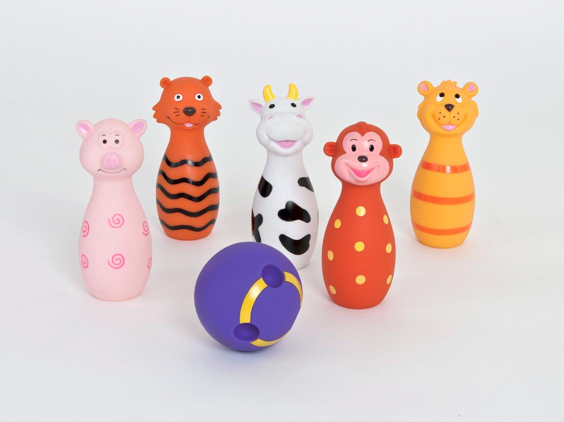 """Jeu De Quille """"animaux"""" - Ref. 3455 destiné Jeux Animaux Enfant"""