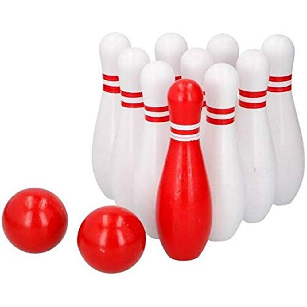 Jeu De Quilles En Bois Bowling Pour Enfants 12 Pièces serapportantà Jeu Bowling Enfant