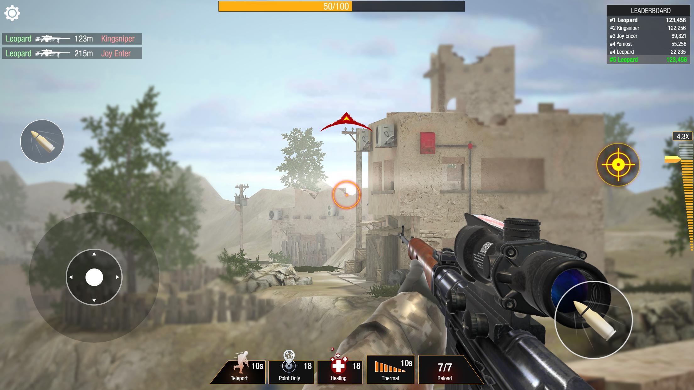 Jeu De Sniper: Bullet Strike - Jeu De Tir Gratuit Pour tout Jeux De Tire Gratuit