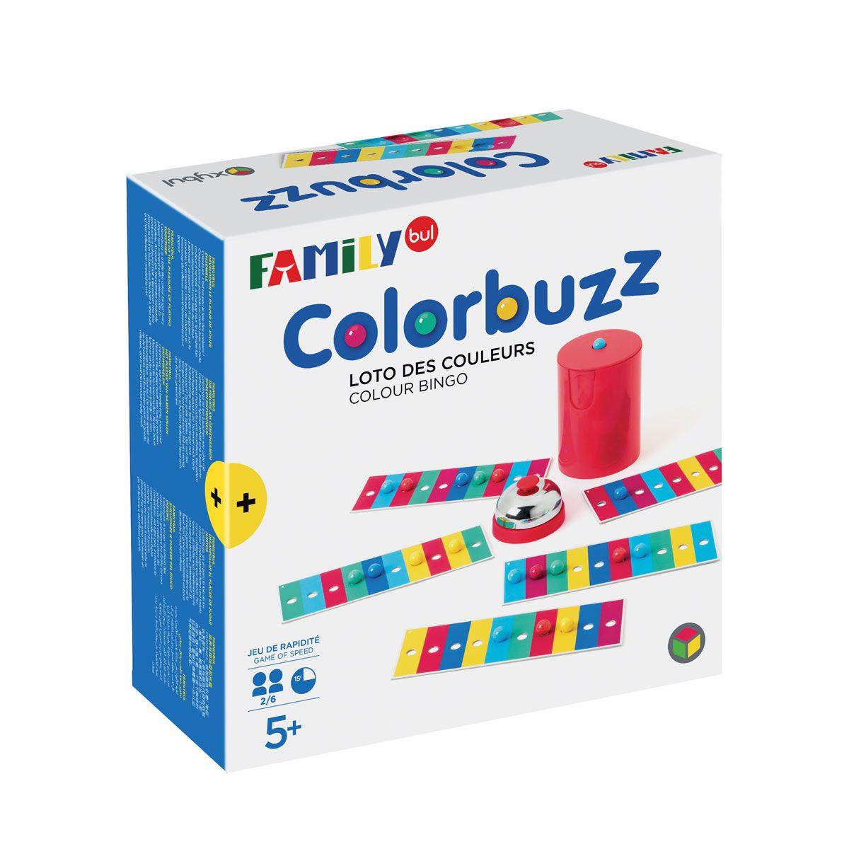Jeu De Société Colorbuzz Familybul Création Oxybul | Jeux De à Jeux Pour Garçon De 9 Ans